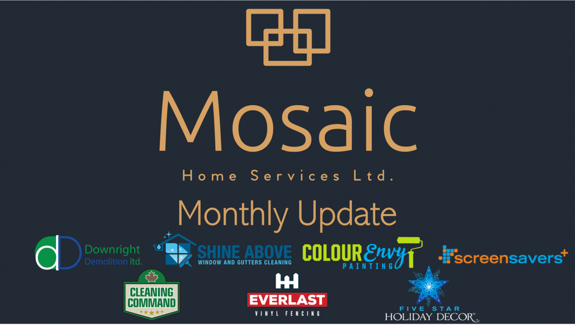 Mosaic Home Services January 2021 Update